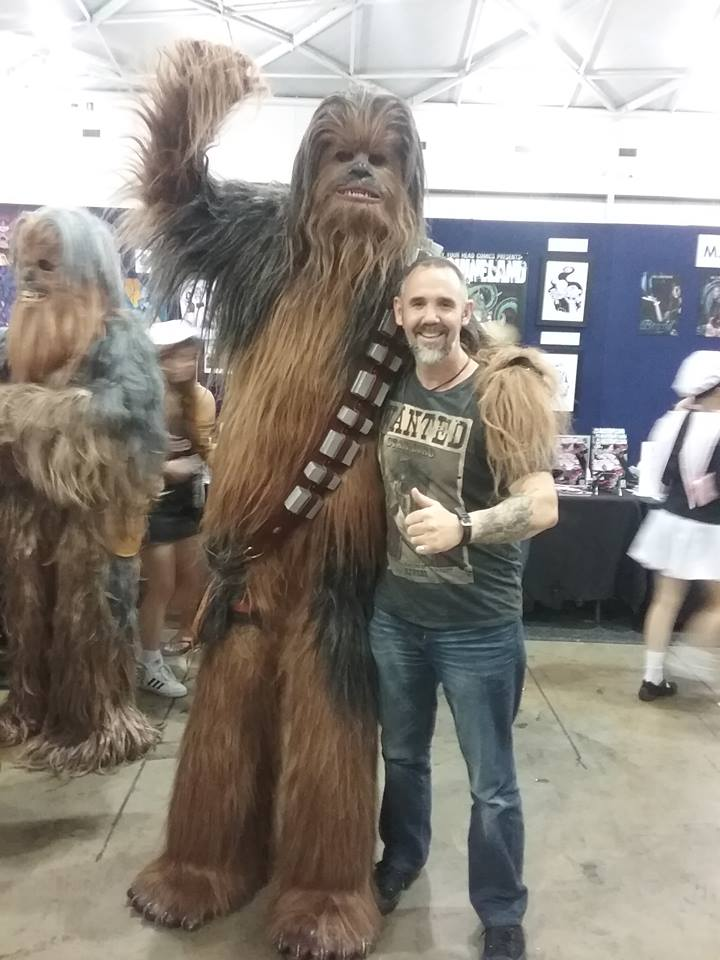 Marc Lindsay Author & Chewie