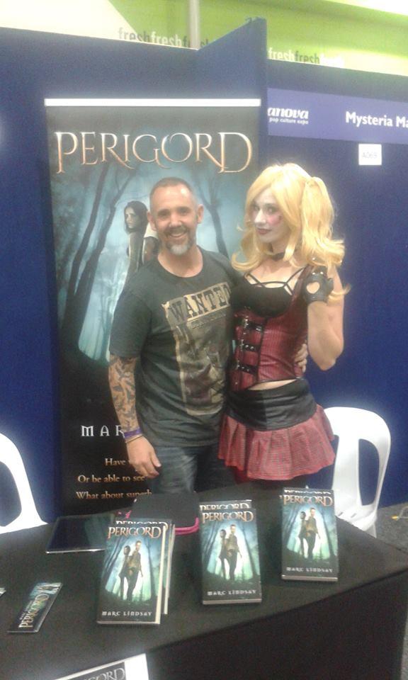Marc Lindsay Author Harley