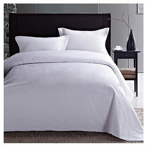 Milano Spa T1200 Duvet Cover Set - Ivory - Queen Size