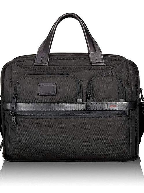 Tumi Alpha2 Nylon Black Laptop Bag