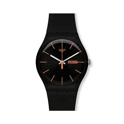 Swatch Dark Rebel - Black/Orange
