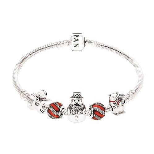 Pandora Christmas Trio Bracelet
