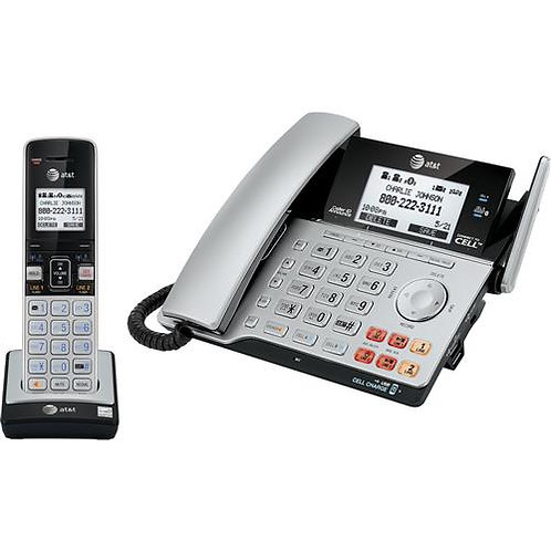 ATT 2-Line Corded/Cordless Answering System