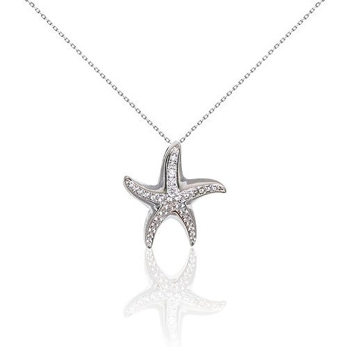 Bean & Vanilla Starfish Pendant ONLY