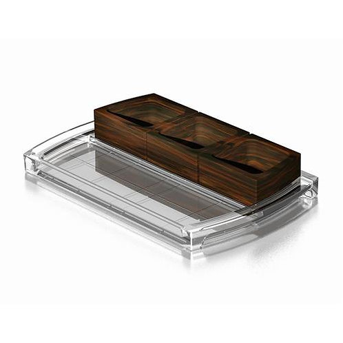 Orrefors Street Condiment Tray