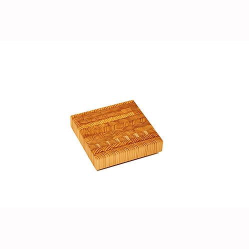 Larch Wood Cheese End Grain Cutting Board