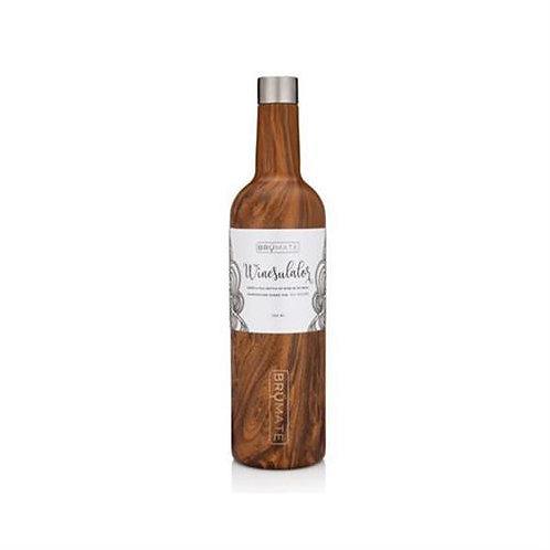 Brumate Winesulator 25oz Wine Canteen - Walnut