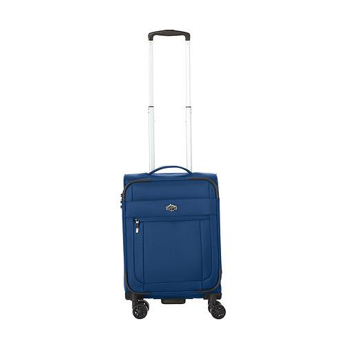 Pacific Emerson Softside 100% Polyester 21 inch Spinner Upright - Blue