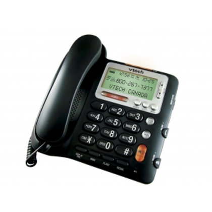 Vtech Corded Telephone with Big Buttons Caller ID and Speakerphone