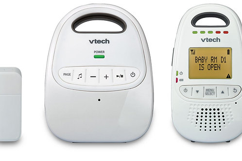 VTech Safe & Sound 6.0 Digital Audio Baby Monitor with Open/Closed
