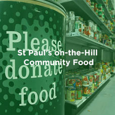 St Paul's on-the-Hill Community Food Bank serving Ajax and Pickering