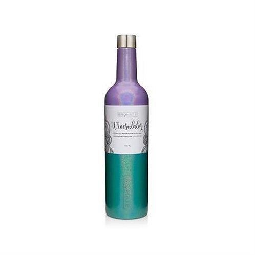 Brumate Winesulator 25oz Wine Canteen - Glitter Mermaid