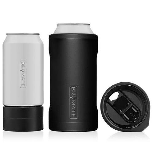 Hopsulator TRIO - Matte Black, 3in1 CanCooler/Cup