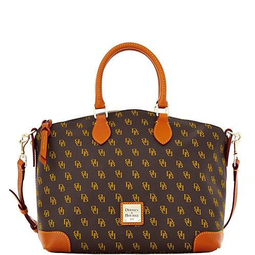 Dooney and Bourke Gretta Signature Satchel