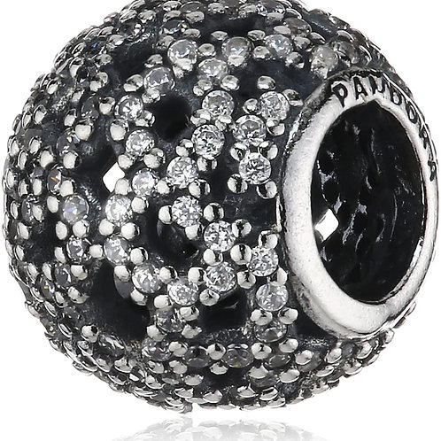Pandora Shimmering Lace Charm