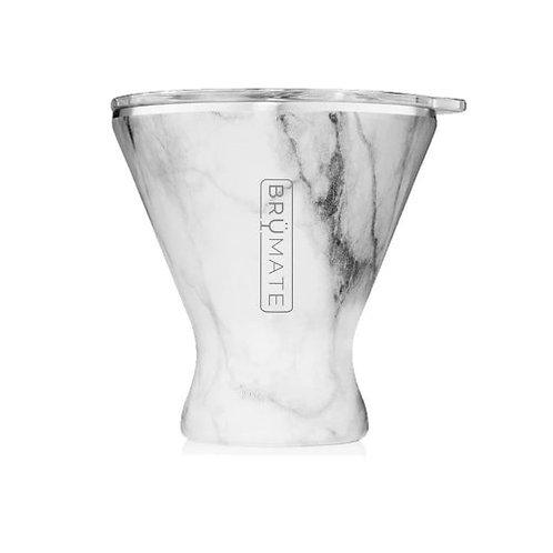 Brumate MargTini 10z Tumbler - Carrara