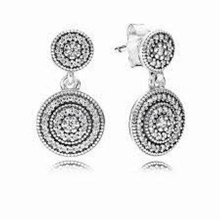 Pandora Radiant Elegance Drop Earrings