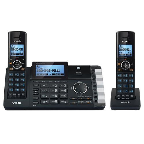 VTech DS6251-2 DECT 6.0 Expandable 2-Line Cordless Phone w/2 Handsets