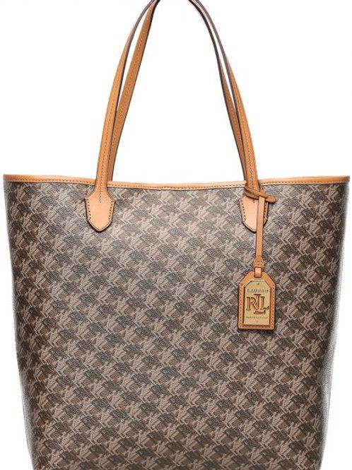 Lauren by Ralph Lauren Dobson Dalia Tote Bag for Women - Brown