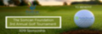 somcan foundation golf banner 2019 for s