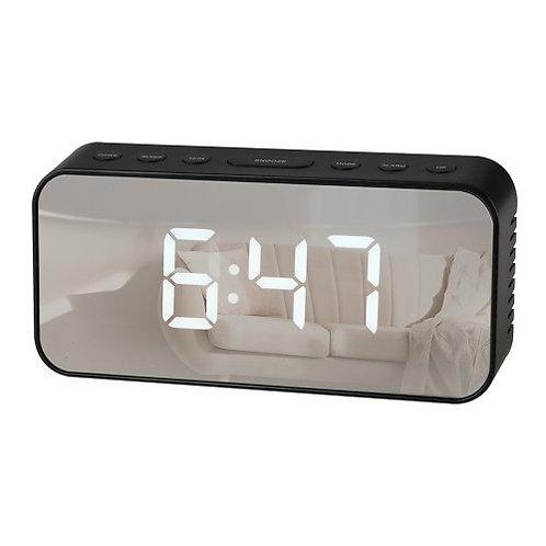RCA Alarm Clock,Silver