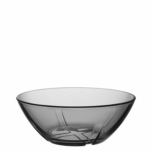 Kosta Boda Bruk Bowl Smoke Grey Small