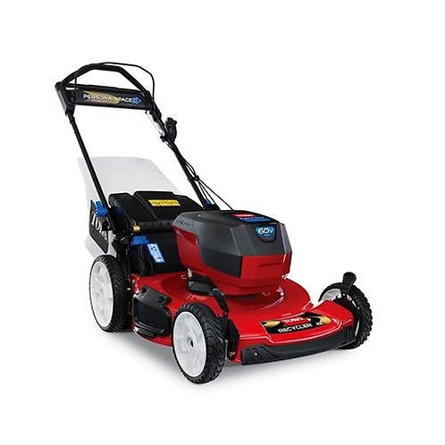 """Toro  22"""" Recycler Personal Pace SmartStow Mower - 60V battery"""