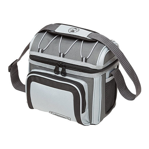 Coleman 6 Can Soft Cooler, Grey