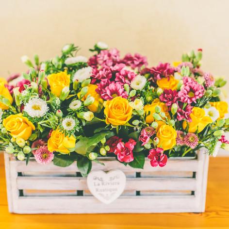 Mothers Day arrangement, Stem Ginger
