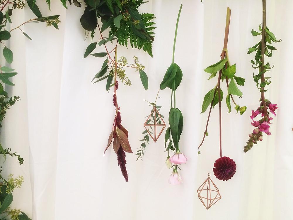 Hanging Flowers - Stem Ginger