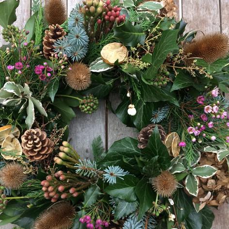 Christmas Wreath, Stem Ginger