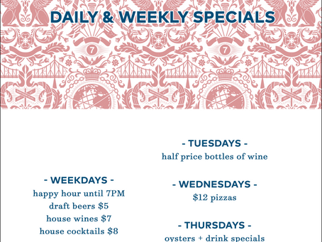 Our Daily Promotions!