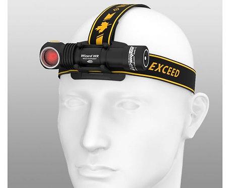 Armytek Wizard WR Headlamp/Multi-Flashlight (White-Red Light)