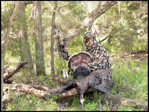Do you turkey hunt naked?