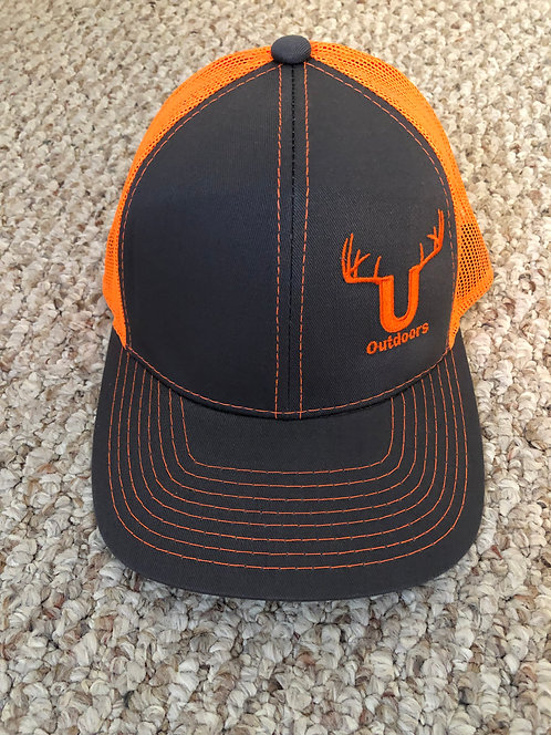 U Outdoors Orange Trucker Hat