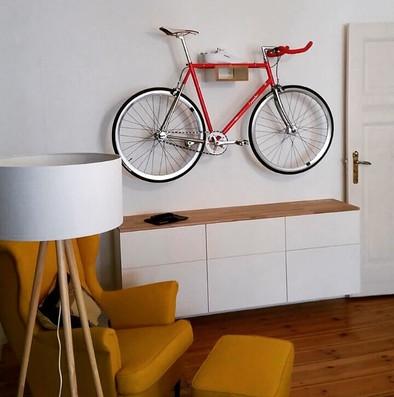 Fahrradwandhalterung holz HIKEE Nonstop