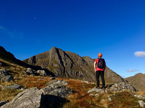 The Great Ridge of Garbh Bheinn