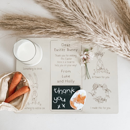 Personalized Wooden Easter Treat Plate | Forrest and Fleur