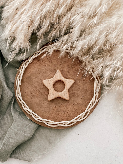 Wooden Teether   Star