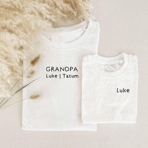 Personalized Tshirt Onesie / Tee