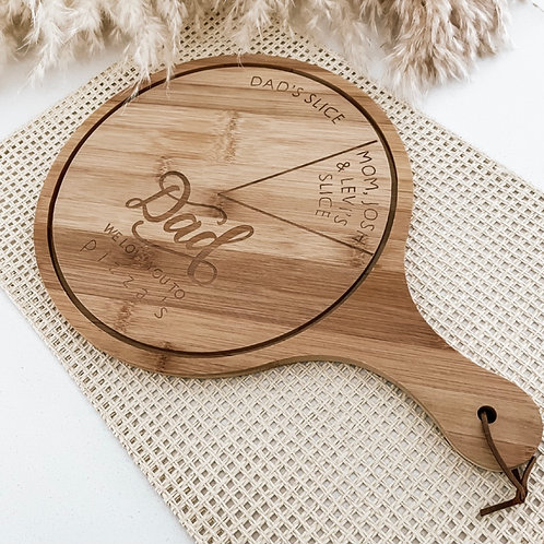 Personalized Pizza Board - We Love You To Pizza's | Bamboo