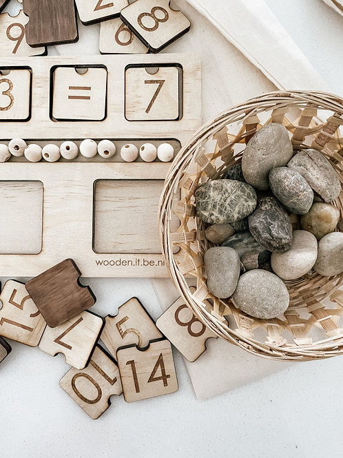 Counting Board - Rock Theme