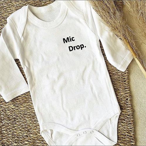 Mic Drop Onesie / Tee