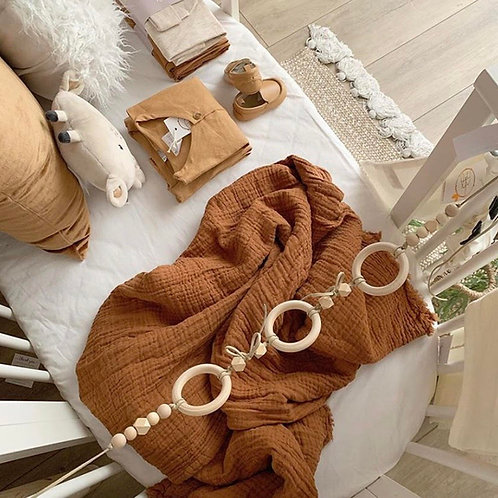 Wooden Teething String