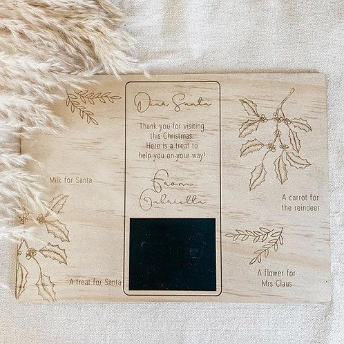 Santa Treat Board | Holly Collection