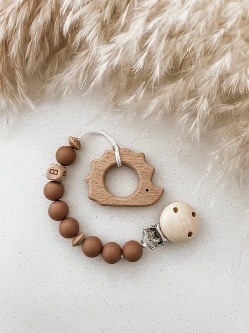 Wooden Teether | Hedgehog