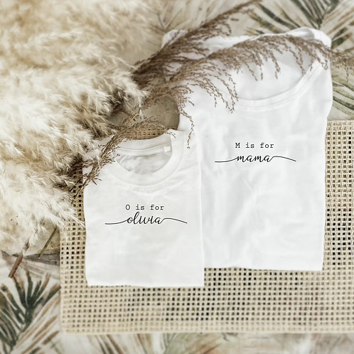 Mama Cursive Font Tshirt