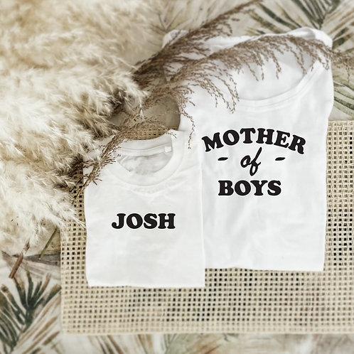Mom Of Boys Tshirt