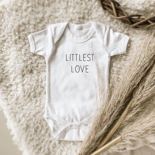 Little Love and Littlest One Onesie and Tshirt Set