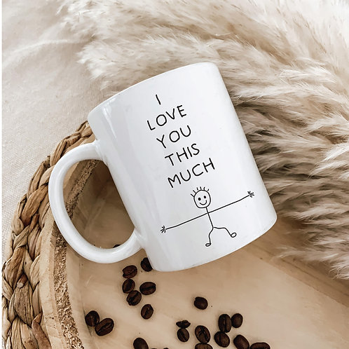 Your Childs Drawing On A Mug   Personalized